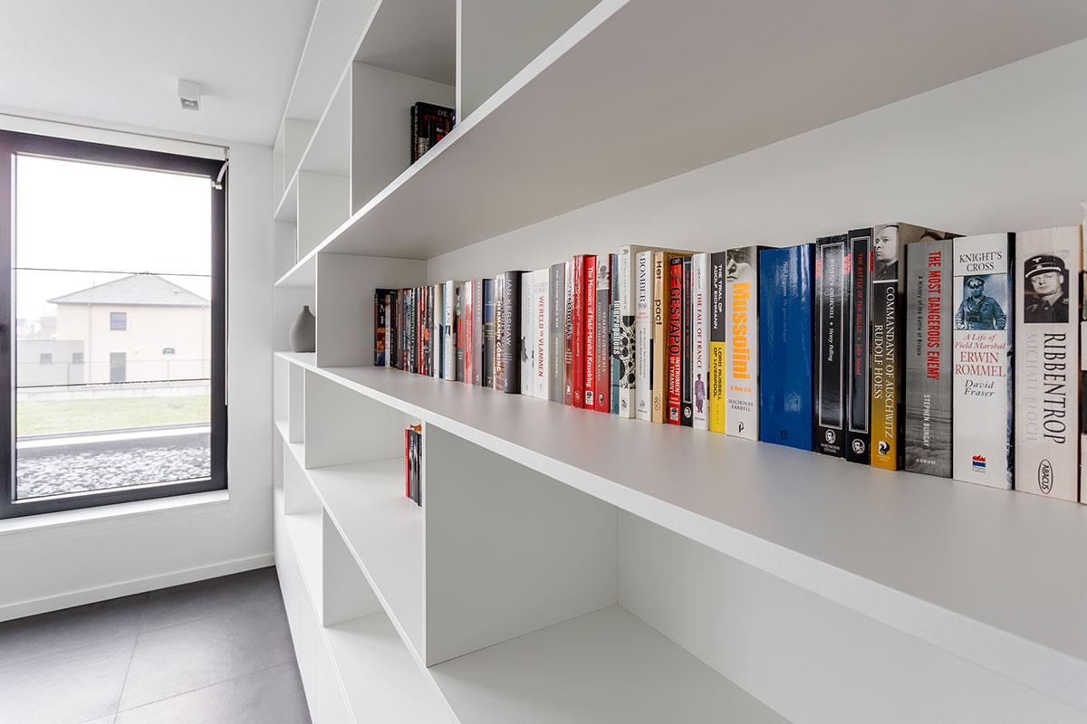 Moderne Boekenkast. Stunning Meubelen Weyne Interieur Bureau Moderne ...
